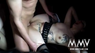 Whores in the club plowed with naughty quit