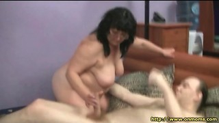 Hefty gross mature boned in her slimy labia
