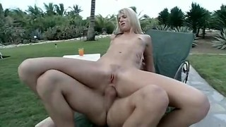 Lean Brit damsel has assfuck lovemaking outdoors