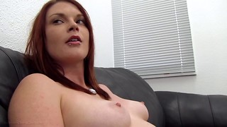 Sandy-haired Laura plowed hard-core in reality pornography