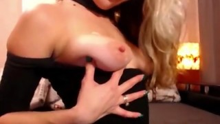 Fabulous Ash-blonde In Undergarments Wants Faux-cock Hookup Over The Internet