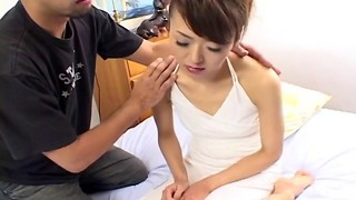 Close up eating and xxx pounding with an Japanese female