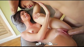 4K Tiny4K - Emma Stoned ravages her fellow in his office