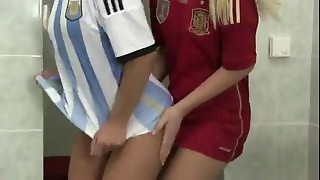 Soccer Players Lesbos