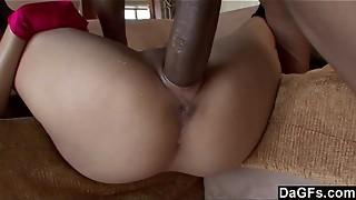 Cock-squeezing chinese gash ruined by bbc