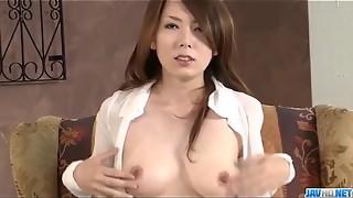 Yui Hatano fellates manstick and romps like an angel