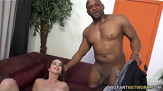 Mia Monroe Takes Her First-ever Ever Dark-hued Hard-on