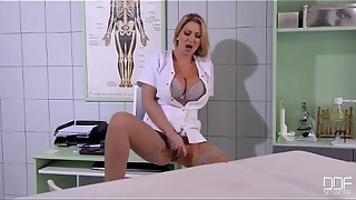 Buxom Nurse ravages her Patient