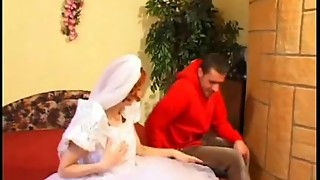 Finest Boy Romps Ginger-haired Bride