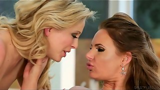 Phoenix Marie and Cherie DeVille Attempt Buttfuck