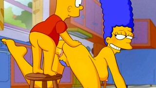 Simpsons Pornography 1 Bart shag Marge Animation Pornography HD