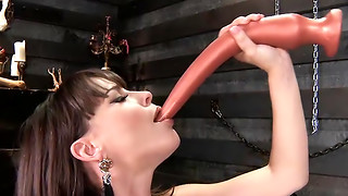 Dana Dearmond Instructs Ryan Conner how to Keister