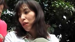 Nailing in the park - kinky mature Tomoko Uehara in outdoor Sixty-nine