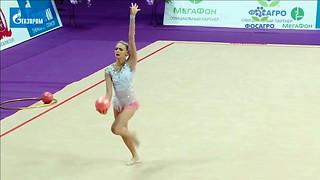 super hot Russian gymnast