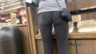 Slim-Sexy Mummy VPL Grey Yoga Trousers