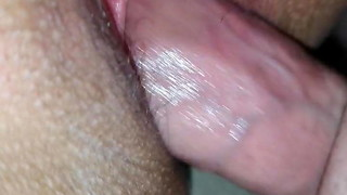 Poke wifey with internal ejaculation completing