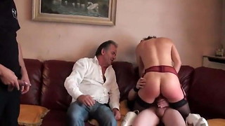 mature french tart gang-fucked