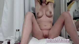 Lelu Love-WEBCAM: Jizm Thoughts And 2 Electro-hitachi Ejaculations