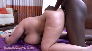Dark-hued Bull Breeds Saggy Funbag HuCow Claudia Marie