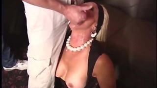 mature bitch martha in messy gang-fuck cumfest