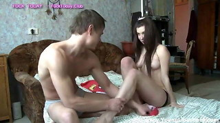 Russian Teenage Deep-throating And Nailing Sexdate FuckToday.Club