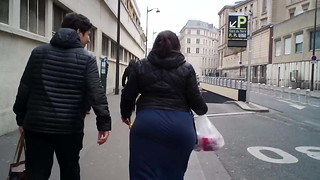 Large arse arabic in france 1