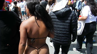 Pride Weekend 2019 - 14: Blasian Cable Swimsuit Amazon