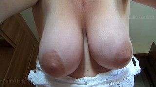 Wife's Fat Saggy Innate Funbags - for your tugging elation