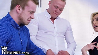 BiEmpire Compelled MMF Assfuck 3 way