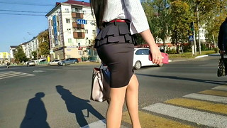 Hidden cam on the streets