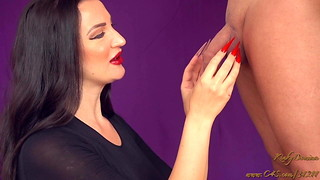 Additional Lengthy Stiletto Humps Cock and ball torture Injection