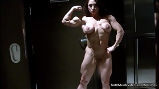 EroticMuscleVideos Sleek Displaying And BrandiMae'_s HardBody
