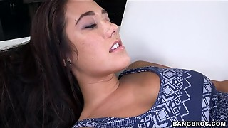 BANGBROS - Eva Lovia Plays With Her Vulva