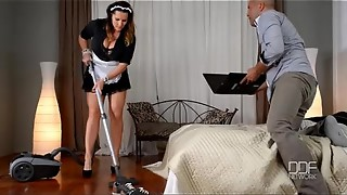 French maid gets caught and orb boned