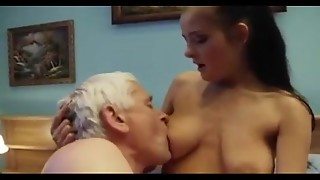 Grandpa Ravaging not his Ginormous Boobed Youthfull Granddaughter