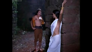 Indian Actress Helen Brodie Stripped to the waist