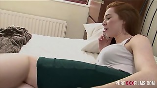Super-naughty Sandy-haired Stepsister