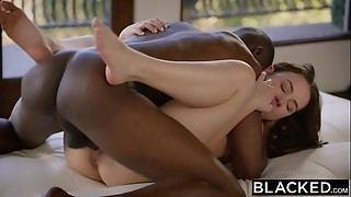BLACKED Super hot Model Taylor Sands Takes Big black cock