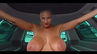 [HoliVR] Car Romp Escapade 100% Driving Nail practice   360 VR Porno