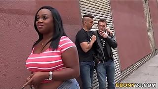 Black Jayden Starr Attempts Dp