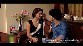 Super-fucking-hot Bhabhi Romance with Husband'_s Mate in sofa - Recent Brief Film 2017