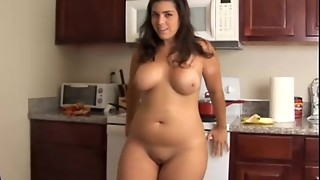 Plump gigantic bra-stuffers honey