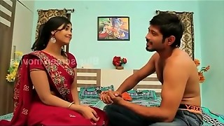 game of romance//indain uber-sexy housewife eliminate saree