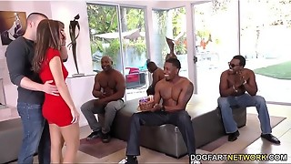 Bday Gang-fuck with Luxurious Mother Alana Cruise