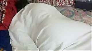 SLEEPING STEPMOM GETS AWAKEN TO A Internal ejaculation