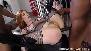 Dark-hued Prick Anal invasion with Lauren Phillips - Hotwife Sessions