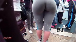 Candid Ginormous Rump Bouncy Arse Booty Brazil Fat Curvaceous Phat ass white girl Plumper Rump Premium 52