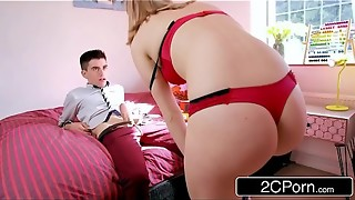 Hasty Times On A First-ever Appointment - Jordi &amp_ Hungarian Teenage Jenny Diamond