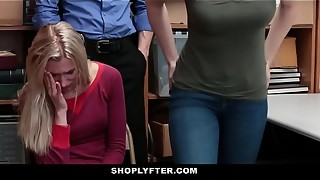 Shoplyfter - Daughter-in-law Pulverizes Cop For Moms Freedom