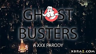 Ghostbusters hardcore parody flick with Monique Alexander